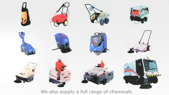 Industrial Cleaning Equipment - Reno provides sweepers, high pressure ...